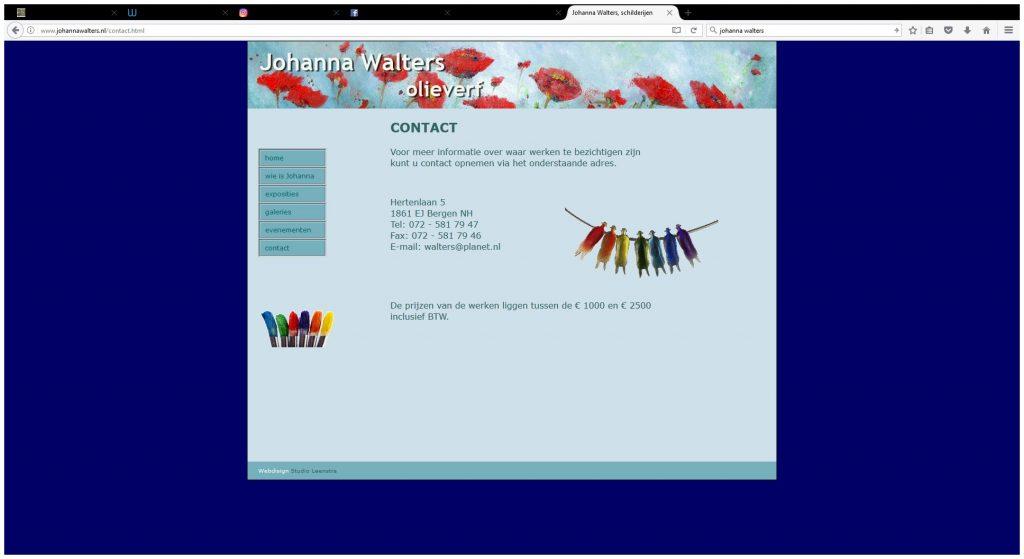 johanna 1024x559 - Fotografie en webdesign